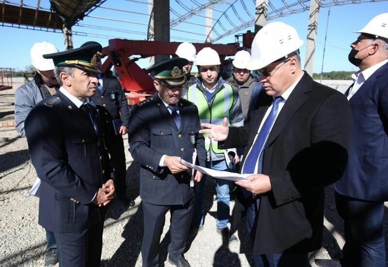 Новый таможенный пост в Азербайджане позволит ускорить грузоперевозки по коридору Север-Юг