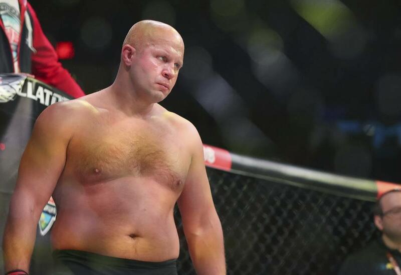 Федор Емельяненко нокаутировал Тимоти Джонсона на первом турнире Bellator в России