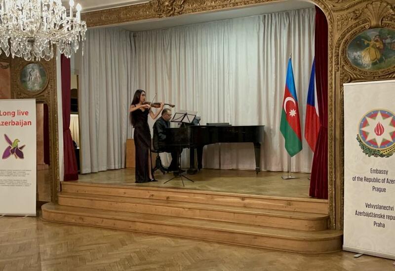 В Праге прошел концерт Джанель Наджафлы Long live Azerbaijan, посвященный Победе Азербайджана