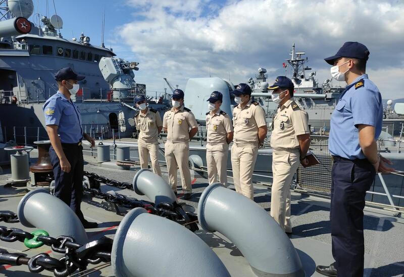 Офицеры ВМС Азербайджана успешно прошли курс стажировки в Турции