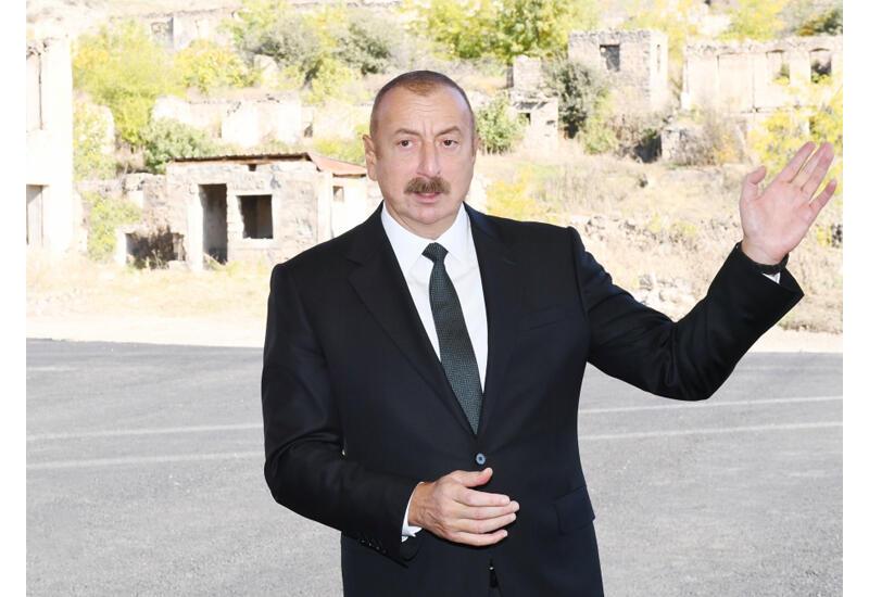 Prezident İlham Əliyev: İkinci Qarabağ müharibəsi bizim gücümüzü göstərdi və milli ruhumuzu göstərdi
