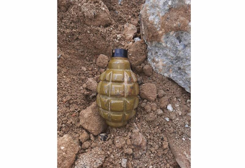 В Баку на одном из проспектов обнаружена граната