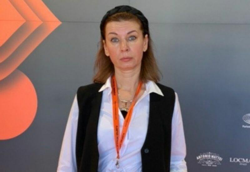 Украинская художница на Флорентийской биеннале с «Азербайджанским ковром»