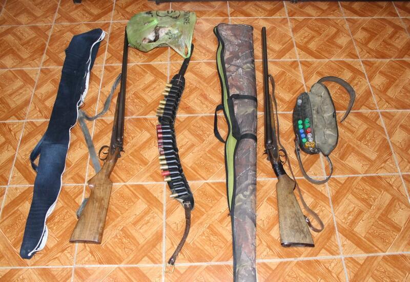 В Загатале задержаны браконьеры