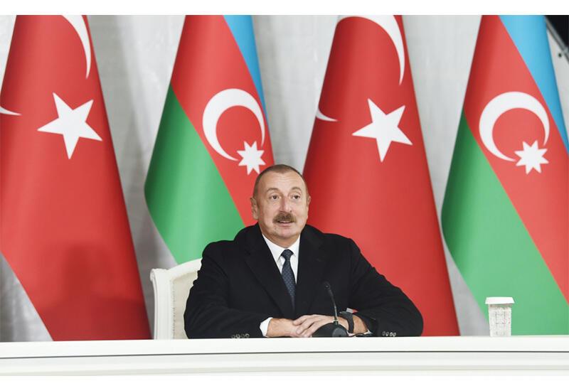 Prezident İlham Əliyev: Şuşa Bəyannaməsi Azərbaycan-Türkiyə əlaqələrini rəsmən müttəfiqlik səviyyəsinə qaldırmışdır