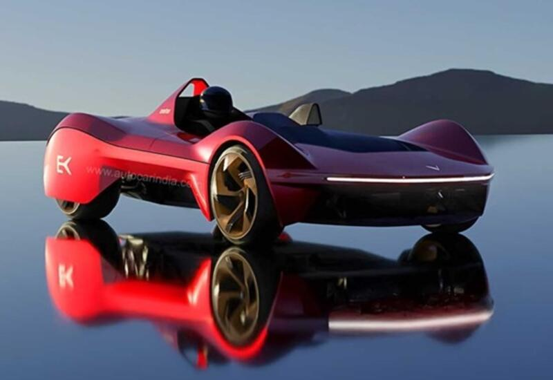 В Индии создали скоростной электромобиль