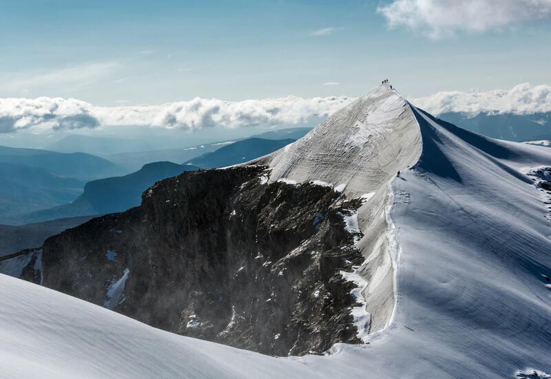 Тревожные последствия потепления: тают ледники на горе Кебнекайсе в Лапландии