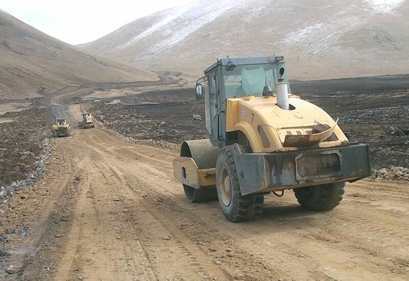 В Карабахе продолжаются инженерные работы