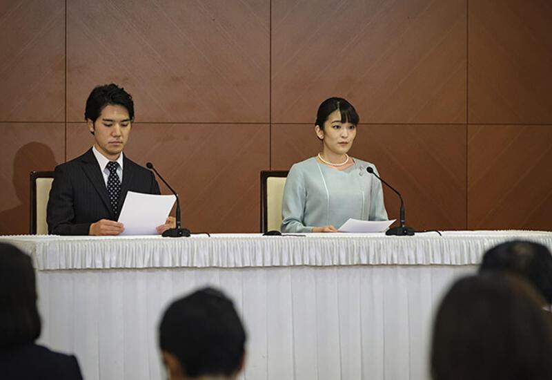 Жених японской принцессы извинился, что сделал ее простолюдинкой
