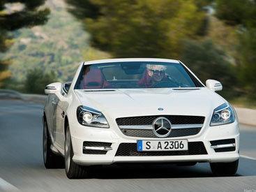 Новый дизельный Mercedes-Benz SLK 250 CDI - ФОТОСЕССИЯ