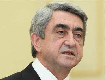 Президент Армении признал принцип территориальной целостности