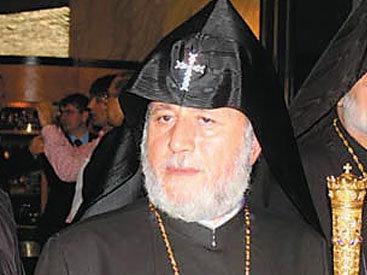 Протестующие напали на резиденцию армянского католикоса