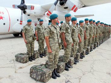 Азербайджанские миротворцы отправились в Афганистан - ФОТО - ВИДЕО