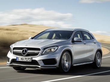 Моторы Mercedes-Benz CLA 45 и GLA 45 AMG нереально усилили - ФОТО