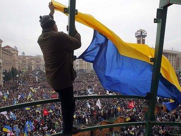 В ходе столкновений в центре Киева есть пострадавшие - ФОТО