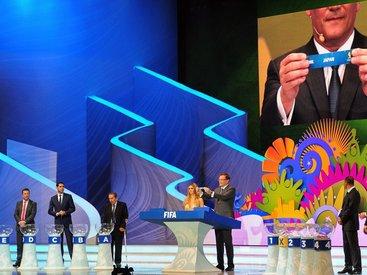 В Бразилии состоялась жеребьевка ЧМ - 2014 по футболу - ОБНОВЛЕНО - ФОТО