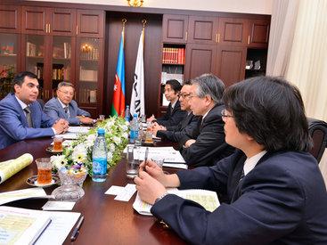 Ректор БВШН встретился со специалистами из Японии