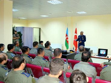 Азербайджанские и турецкие пилоты сработались - ФОТО