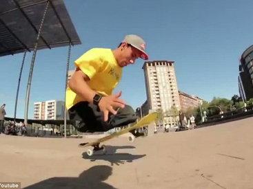 Безногий бразилец показывает немыслимые трюки на скейте – ФОТО - ВИДЕО