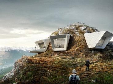Уникальный музей с видом на знаменитые альпийские вершины
