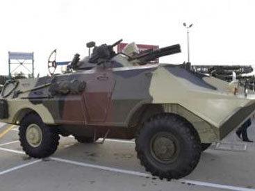 В Азербайджане испытывают новую боевую машину