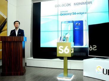 SAMSUNG Electronics представляет телевизоры Samsung SUHD TV и смартфоны Galaxy S6 edge+ - ФОТО