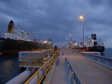 С терминала Джейхан отгружено 2360 танкеров с нефтью