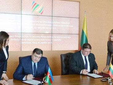 Азербайджан и Литва значительно расширили двусторонние связи - ФОТО