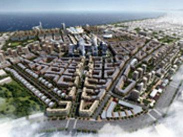 """В """"Черном городе"""" начинается реализация грандиозного проекта Baku White City"""