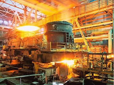Увеличился объем производства металлургической промышленности