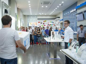 Bu gün Samsung Galaxy S6 Edge+ smartfonunun Azərbaycanda rəsmi satışa çıxma günüdür