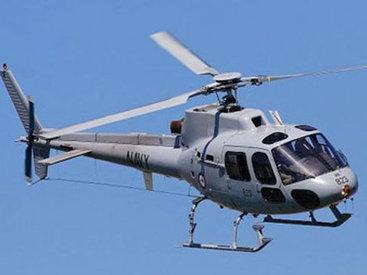 Военный вертолет аварийно сел в Таджикистане