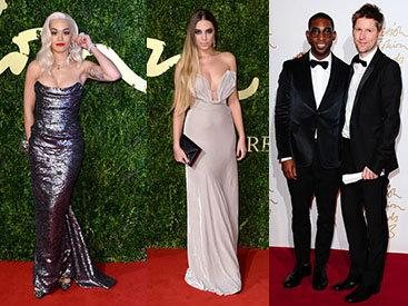 Звезды собрались в Лондоне ради British Fashion Awards - ФОТО