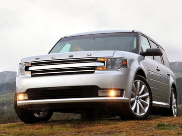 Новый семиместный внедорожник Ford Flex 2013 года - ФОТОСЕССИЯ