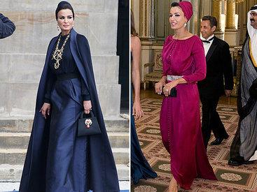 Арабские принцессы без паранджи, но в кутюре - ФОТО