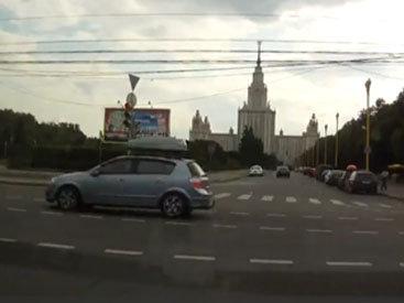 Тяжелое ДТП на перекрестке в России - ВИДЕО