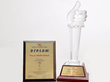 "Медиа-компания Day.Az удостоена премии ""The First – 2011"" – ФОТО"