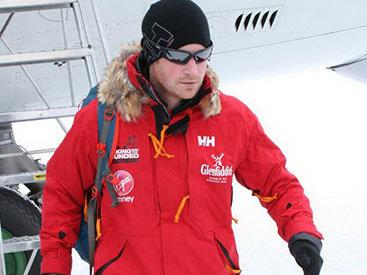 Британский принц прервал экспедицию на Южный полюс