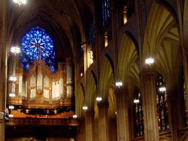 Прогулки бакинца по большому Нью-Йорку - Собор Святого Патрика - ФОТО