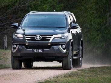 В Австралии официально представили внедорожник Toyota Fortuner - ФОТО