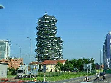 Милан: Тропический лес в… жилых зданиях - ФОТО
