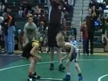 7-летний борец, наверняка, будущий чемпион мира - ВИДЕО