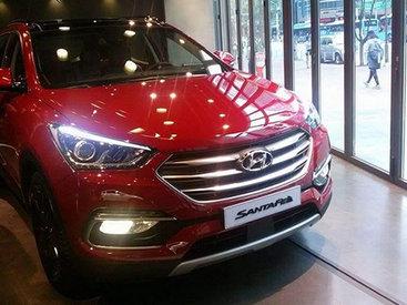 Hyundai представил обновленный Santa Fe - ФОТОСЕССИЯ