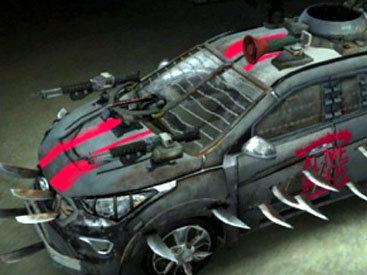 Hyundai создала машину-борца с зомби - ФОТО
