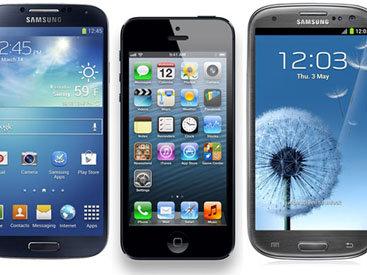 Galaxy S4, iPhone 5 и Galaxy S3 в тесте на прочность - ВИДЕО