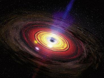 Через черные дыры можно попасть в другую вселенную