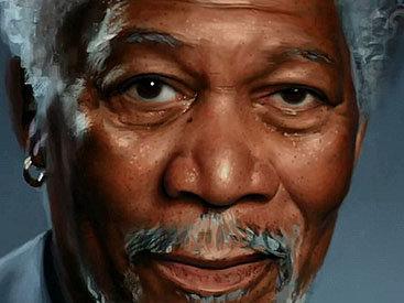 Невероятно реалистичный портрет, нарисованный пальцами - ФОТО - ВИДЕО