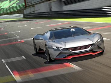 Анонсированный суперкар Peugeot оказался виртуальным - ФОТО