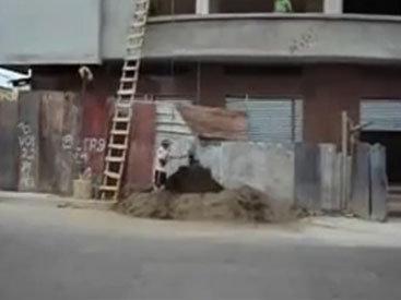 Креативный способ поднятия грузов - ВИДЕО