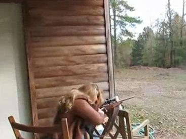 Выстрел из снайперской винтовки обернулся кошмаром - ВИДЕО